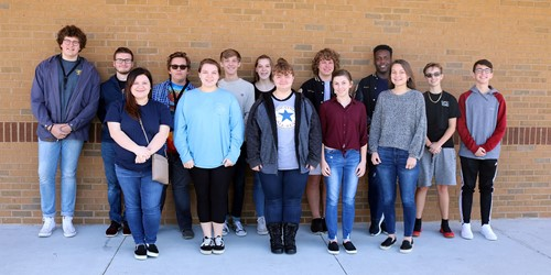 Thomas County Central High School has 17 youth musicians in the Georgia Music Educators Association 2019 Region Honor Bands