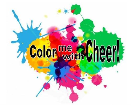 """Color Me with Cheer"" Color Run"