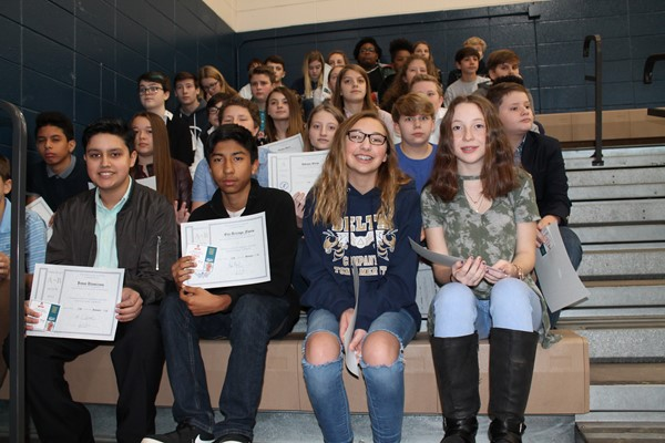 2nd Nine Weeks Honors Assembly 2018-2019