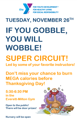 If you gobble, you will wobble