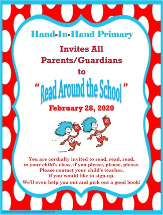 Read Around the School Flyer (Eng)