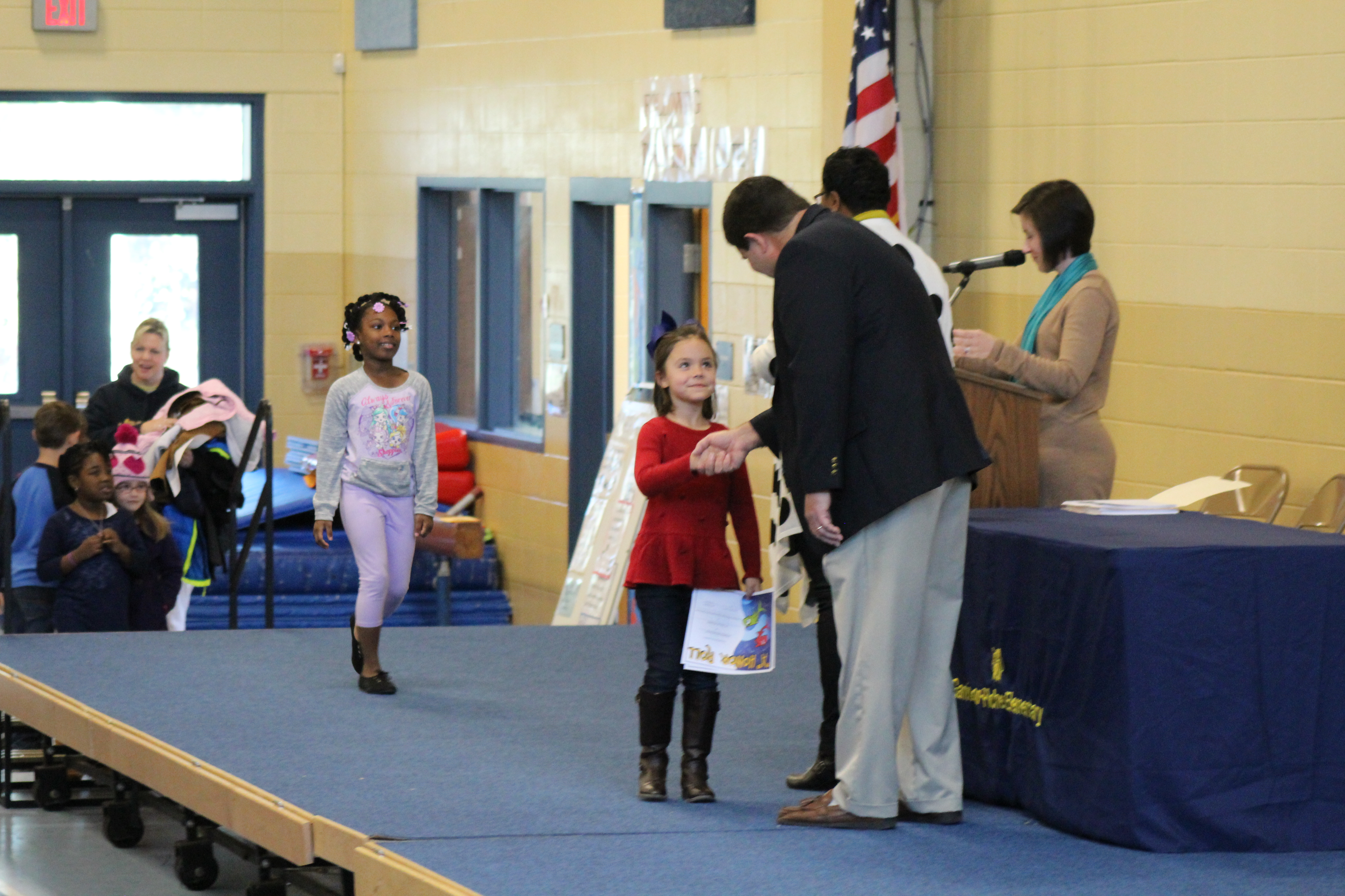 First Grade Honors Assembly