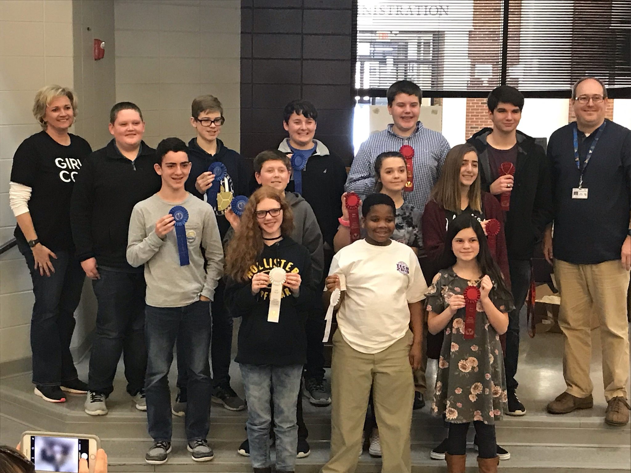 Tech Fair winners