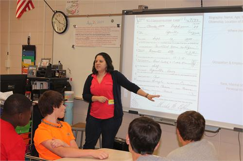 students enjoy guest speaker thomas county middle school