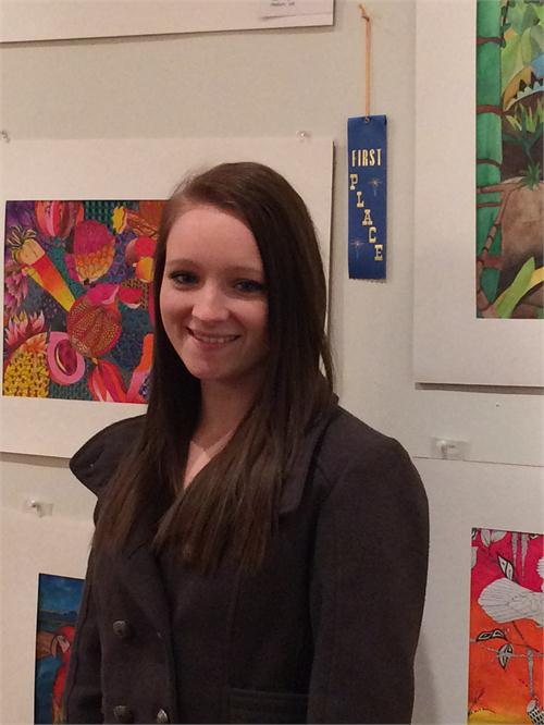 Artists Win at Center for the Arts Youth Art Show