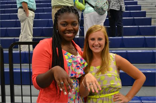 Junior Class Receives Rings