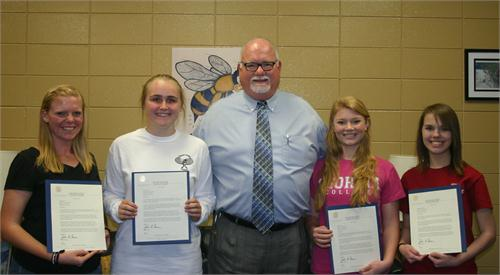 Governor's Honor Program Selections