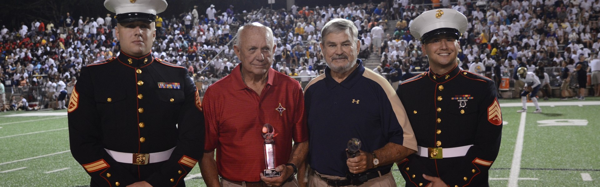 Coach Ed Pilcher was inducted into the Great American Rivalry Series Hall of Fame.