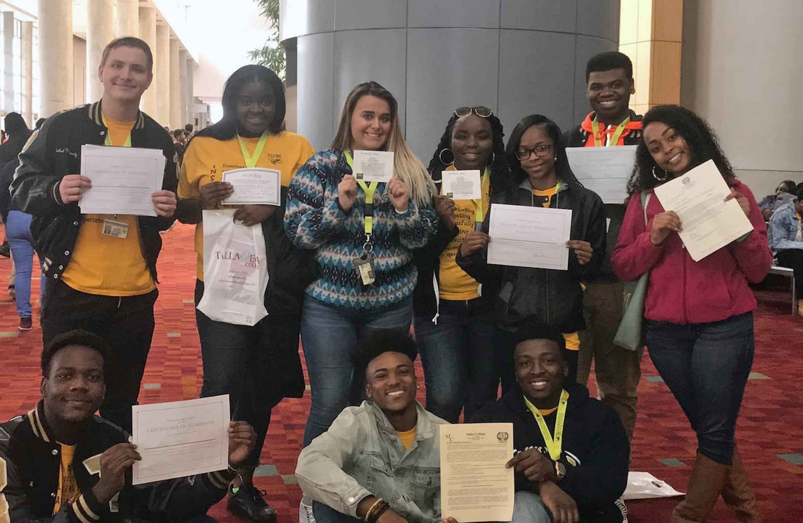 TCCHS I.N.S.P.I.R.E. members excel at College Fair