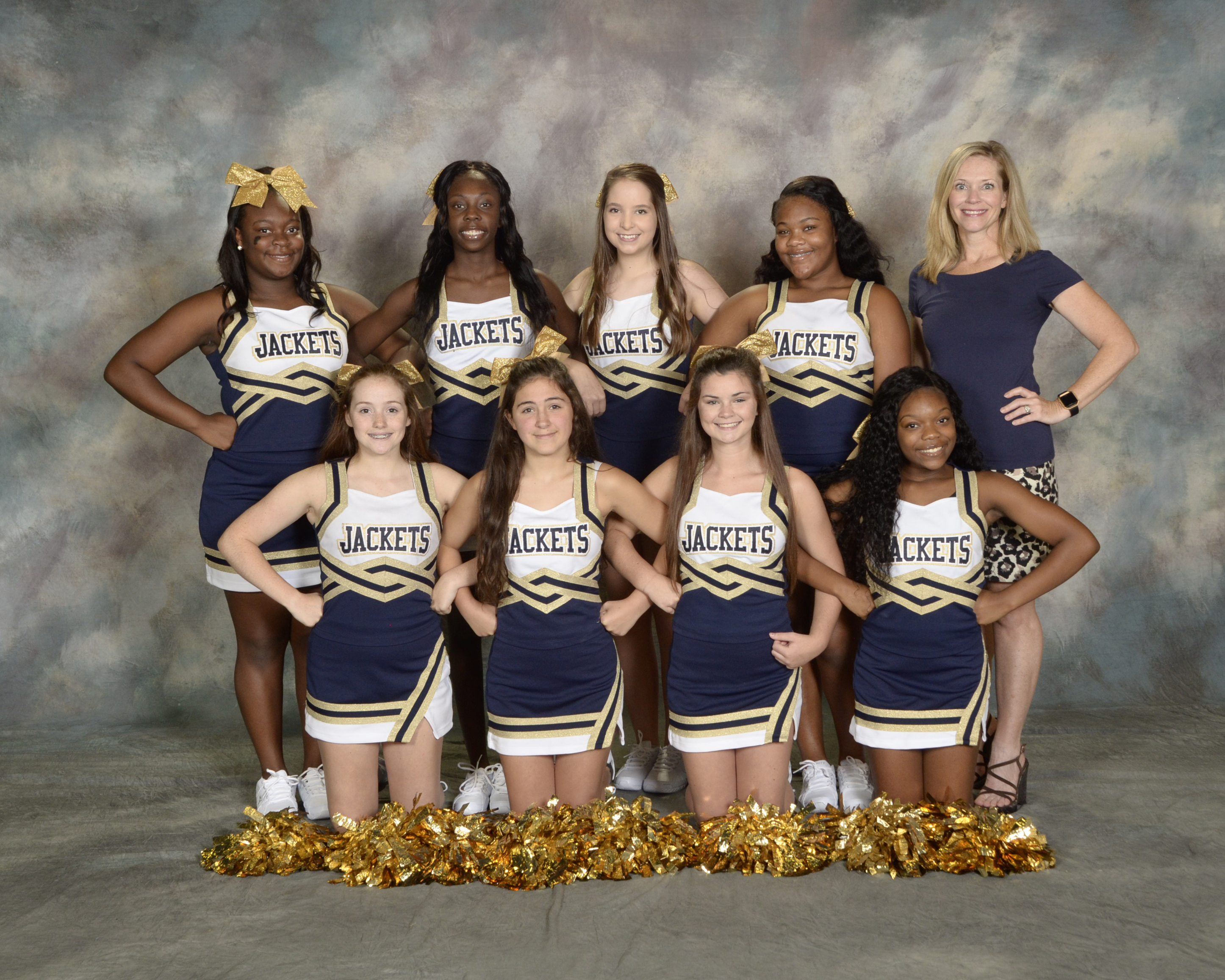 9th grade cheerleaders