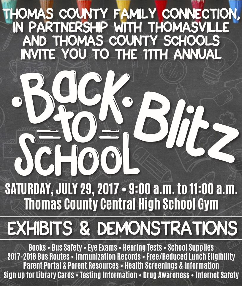 Back to School Blitz Flyer